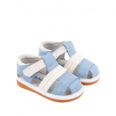 sandales semelles souples Océan C2BB - chaussons, chaussures, chaussettes pour bébé