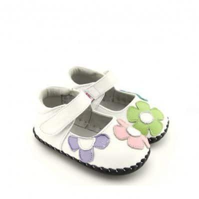 Chaussures premiers pas Babies CEREMONIE à fleurs C2BB - chaussons, chaussures, chaussettes pour bébé