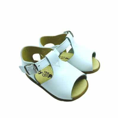 Chaussures semelle souple sandales ouvertes Boucle CEREMONIE