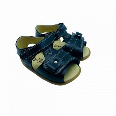 Chaussures semelle souple sandales ouvertes MARIN Double Scratch