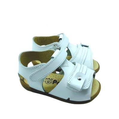 Chaussures semelle souple sandales ouvertes CEREMONIE Double Scratch