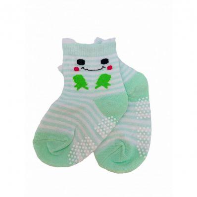 chaussette antidérapante GRENOUILLE C2BB - chaussons, chaussures, chaussettes pour bébé