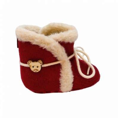 Bottines fourrées premiers pas C2BB - chaussons, chaussures, chaussettes pour bébé