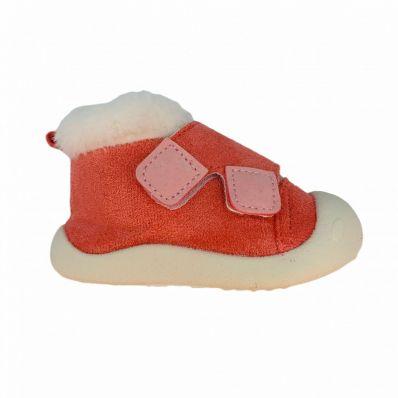 Chaussurettes montantes & fourrées GIRLY C2BB - chaussons, chaussures, chaussettes pour bébé