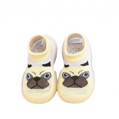 Chaussons-chaussettes respirants CHIEN C2BB - chaussons, chaussures, chaussettes pour bébé