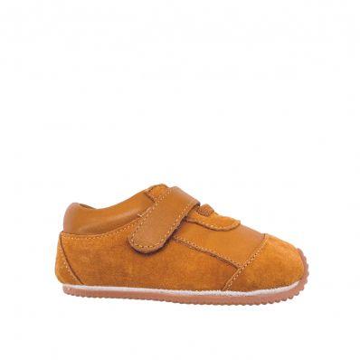 Chaussures premiers pas cuir souple baskets Nubuck Natural C2BB - chaussons, chaussures, chaussettes pour bébé