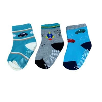 Lot de chaussettes antidérapantes OCÉAN