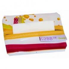 Pochette à mouchoirs en papier MADE IN FRANCE | Tache de couleurs