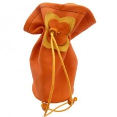 Baby Pacifier bag | Orange