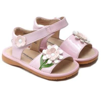 http://cdn3.chausson-de-bebe.com/1920-thickbox_default/little-blue-lamb-squeaky-leather-toddler-girls-shoes-pink-sandals-ceremony.jpg