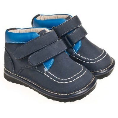 Little Blue Lamb - Chaussures à sifflet | Derbies montantes Bleu marine