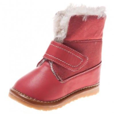 Little Blue Lamb - Chaussures à sifflet | Bottines hiver fourrées