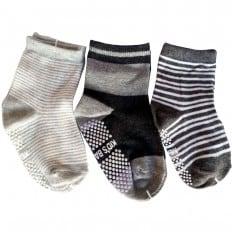 3 paia di calzini antisdrucciolo bambino di 1 a 3 anni | Ragazzo 20