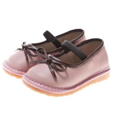 Little Blue Lamb - Scarpine bimba primi passi con fischietto   Ballerina colore rosa