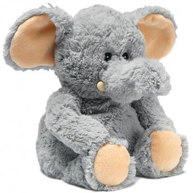 INTELEX - Wärmestofftier für mikrowelle   Elefant