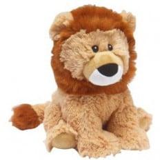 INTELEX - Cozy peluche bouillotte sèche - micro-onde | Lion