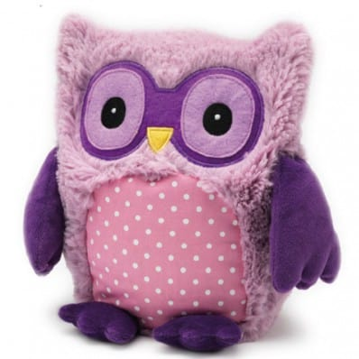 INTELEX - HOOTY plush Microwaveable warmer | Purple owl