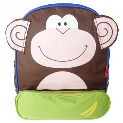 ORANGE IDEA - Boys children backpack schoolbag | Monkey
