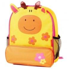 ORANGE IDEA - Girls children backpack schoolbag | Giraffe