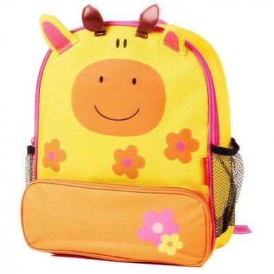 ORANGE IDEA - Girls children backpack schoolbag | Giraffe