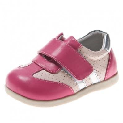 Little Blue Lamb - Scarpine suola morbida - ragazza | Argento rosa sneakers
