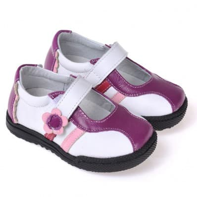 CAROCH - Scarpine suola morbida - ragazza | Sneakers viola e bianco