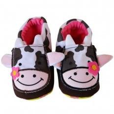 Babyschuhe baumwolle mädchen | Kuh