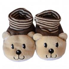 Zapatillas tejido para niños | Osezno moreno