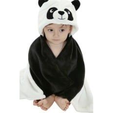 Couverture bébé polaire nouveau né et enfant fille et garçon | Panda