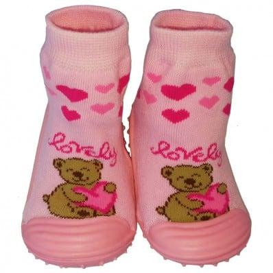 Hausschuhe - Socken Baby Kind geschmeidige Schuhsohle Mädchen | Lovely