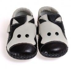 CAROCH - Zapatos de bebe primeros pasos de cuero niños | Vaca