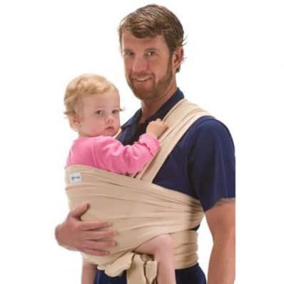 BEBEMOOI - Echarpe de portage - porte bébé coton naturel | Beige