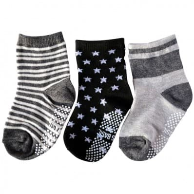 3 pairs of boys anti slip baby socks children from 1 to 3 years old | item 32