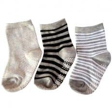 3 paia di calzini antisdrucciolo bambino di 1 a 3 anni   Ragazzo 31