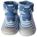 Chaussons-chaussettes enfant antidérapants semelle souple | Eléphant