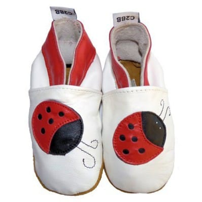 Soft leather baby shoes girls | Ladybird