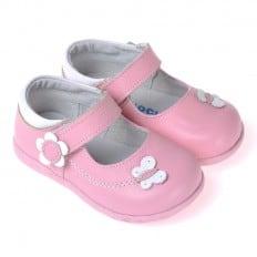 CAROCH - Zapatos de suela de goma blanda niñas | Zapatillas de deporte rosa
