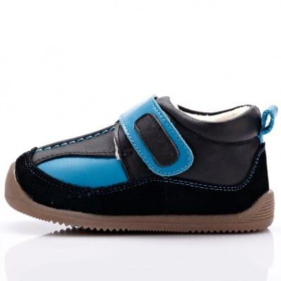 Chaussures semelle souple baskets bicolores