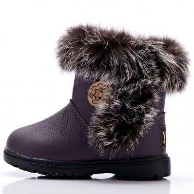 YXY - Chaussures semelle souple | Bottes violettes