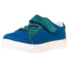Little Blue Lamb - Scarpine suola morbida - ragazzo   Velluto blu sneakers
