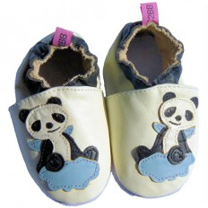 Soft leather baby shoes boys | Panda