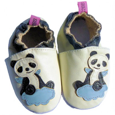 Scarpine Morbida Cuoio Bambini - ragazzo | Panda