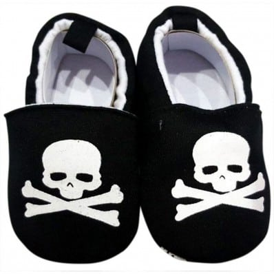 Babyschuhe baumwolle mädchen | Pirat