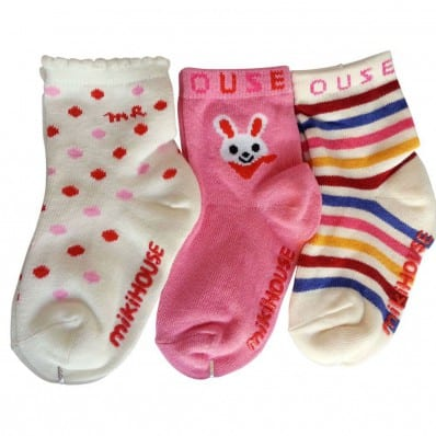 El Lot de 3 calcetines antideslizante para niñas   Lot 18