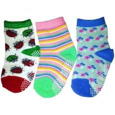 3 paia di calzini antisdrucciolo bambino di 1 a 3 anni | Ragazza Ragazzo 5