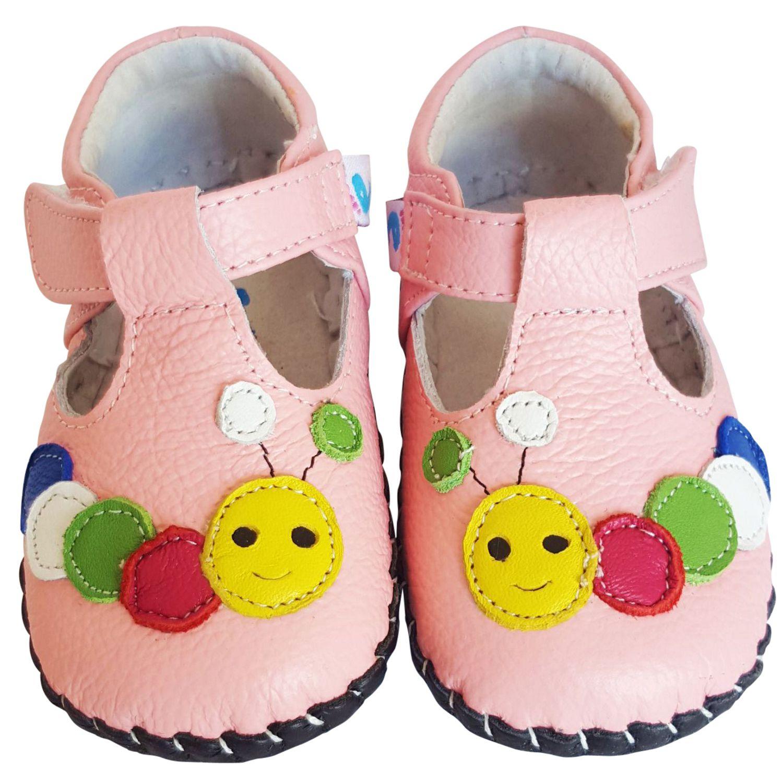 acheter en ligne dc17e 4edae Chaussures bébé premiers pas cuir souple Babies CHENILLE