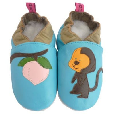 Soft leather baby shoes boys | Small monkey