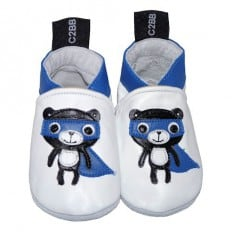 Soft leather baby shoes boys | Super bear