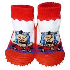 Hausschuhe - Socken Baby Kind geschmeidige Schuhsohle Junge | Kleiner Zug