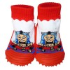 Baby boys Socks shoes with grippy rubber | Small train